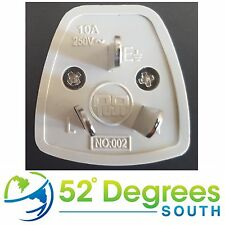 UK to Australia plug adapter 3 Pin