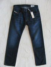 Men's Diesel Larkee Regular Straight Jeans-Wash 0073N-Dark -Size 28 L32 New $180
