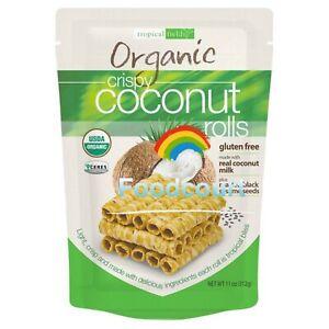 Tropical Fields Organic Crispy Coconut Rolls 11 oz