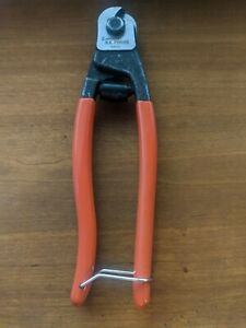 Crescent HKPorter 0690TN Cable Cutter 3/16 in Cutting Steel Jaw 8 inch OAL