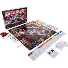 Monopoly Stranger Things Series Children 4 Players Tokens And Cards Board Game