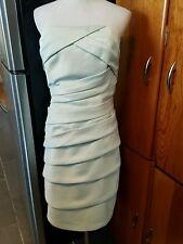 Eden Bridesmaid's dress size 14 strapless knee length light green