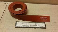 "NOS Solid Rubber Strip 1/16"" x 1.5"" x 144"" Hi-Temp ZZ-R-765 Class 2A Grade 50"
