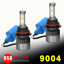 9004 200W 20000LM LED Headlight Kit Hi/Lo Beam Bulb HID 6000K Power Vehicle Lamp