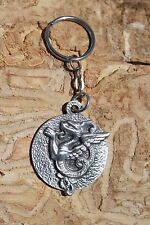 Hastings Pewter Lead Free Pewter Mythical Creature Keychain gift Made in MI NEW
