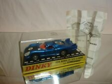 DINKY TOYS 210 ALFA ROMEO 33 TIPO LE MANS - BLUE 1:43 - EXCELLENT IN BOX