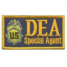 US DEA Special Agent Federal Drug Enforcement FBI Marshal Dept sew iron on patch