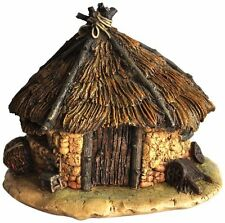 Top Collection Miniature Fairy Garden and Terrarium Thatched Roof Fairy House St