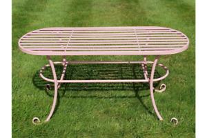 Antique Style Patio Table Metal Garden Table Patio Garden Furniture 7385