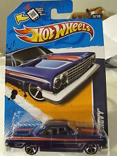 Hot Wheels '62 Chevy Muscle Mania Blue