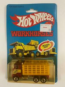 HOT WHEELS WORKHORSES 1979 FORD STAKE BED TRUCK No. 9551 NEW in BP Malaysia