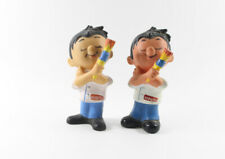 Krautol === 2 Werbefiguren Maler Handwerker Farbe Quietscher Figur #1