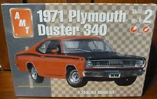 New AMT 1971 PLYMOUTH DUSTER 340 ~ 1:25 Scale Model Kit ~ SEALED