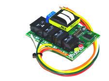 4 CIRCUIT TRAFFIC LIGHT CONTROLLER & SEQUENCER SL-3011 120V, SL-3012 240 V.