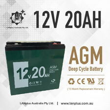 NEW 12V 20AH AGM Deep Cycle SLA Battery 6-DZM-20 Scooter Golf Buggy Wheelchair