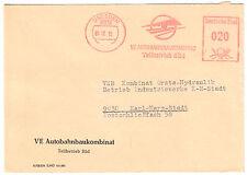 AFS, VE Autobahnbaukombinat, Teilbetrieb Süd, o Dresden, 8073, 6.12.72