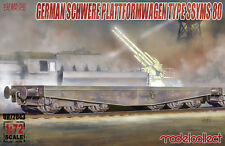 Modelcollect UA72043 , Germany Schwerer plattformwagen type ssyms 80