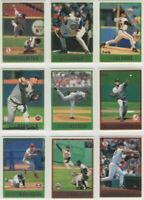 1997 Topps Baseball Team Sets **Pick Your Team**