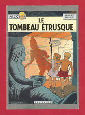 ALIX LE TOMBEAU ETRUSQUE VTG FRENCH POSTCARD JACQUES  MARTIN PUBLISHER JP HUBERT