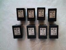 8 leere Druckerpatronen HP 302