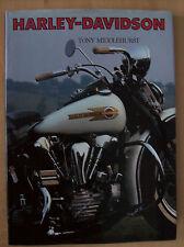 Harley Davidson Tony Middlehurst Hardback Book 1991