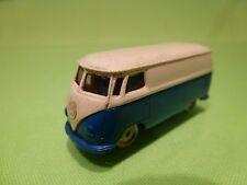 LEGO VW VOLKSWAGEN T1 TRANSPORTER - WHITE BLUE 1:87? - RARE - GOOD CONDITION