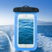 Waterproof Phone Case Pvc Anti-water Pouch Dry Bag Cover for under 6.0''Phone BL
