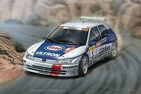 1/24 scale 1996 Peugeot 306 Maxi Monte Carlo Rally WRC model kit by Platz NuNu