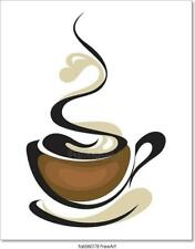 Coffee Cup Art/Canvas Print. Poster, Wall Art, Home Decor