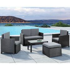 Polyrattan Sitzgruppe Lounge Gartenmöbel Gartenset Garnitur Tisch ArtLife®