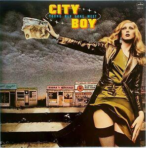 City Boy – Young Men Gone West Vinyl LP 1977 Mercury USA – SRM-1-1182