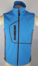 Alpine Running Hiking Training Outdoor Polyester Vest Men Women Size Small Blue