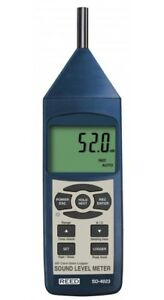 Reed Instruments SD-4023 Sound Level Meter, Type 2, Data Logger NEW SD4023
