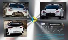 Décal 1/43 HYUNDAI WRC ESSAIS LOEB? NEUVILLE MIKKELSEN