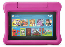 """Pink Amazon Fire 7 Kids Edition 7"""" Tablet 16GB 16 9th Generation B07H8ZCSL9 NEW"""