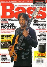 BASS Guitar Magazine UK 61 December 2010 VICTOR WOOTEN Chloe Treacher Nick Cohen