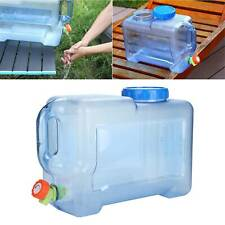 Camping Hiking Tap Carry Tank Container Storage 12L/Drinking Water Bottle Bucket