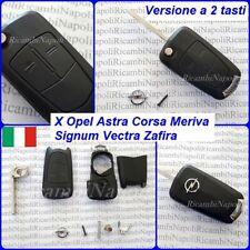 Chiave Cover Telecomando Guscio 2 TASTI OPEL ASTRA H CORSA D MERIVA ZAFIRA