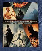CHRISTOPHER NOLAN BOX SET Memento Insomnia Batman Begins Dark Knight Inception