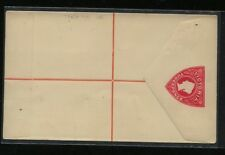 Victoria   registered postal  envelope   unused        KL1216
