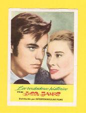 Jesse James Robert Wagner Hope Lange Rare CINE 1962 Card from Spain