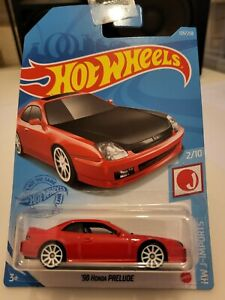 Hot Wheels 2021 '98 Honda Prelude *125/250 HW J-Imports *2/10 GTC08 Red Long