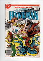 SHADOW WAR OF HAWKMAN #4 DC COMICS 1985 VF+ NEWSSTAND EDITION