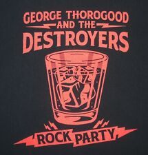 George Thorogood and the Destroyers - Rock Party 2017 US tour t-shirt - XL size