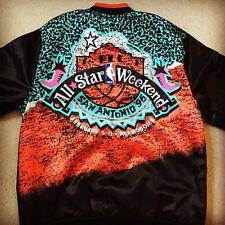 Rare Mitchell and Ness 1996 NBA All Star Game Satin Jacket SZ M San Antonio