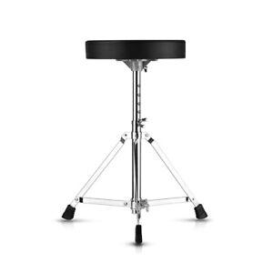Folding Music Guitar Keyboard Drum Stool Throne Piano Chair Round Padded Seat