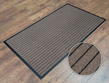 Light Brown Heavy Duty Non Slip Barrier Entrance Office Door Floor Mat 60 x 90cm