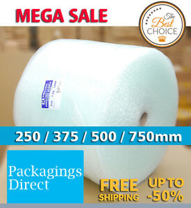High Quality Bubble Cushioning Wrap Bubble Clear Width 250 300 375 500 750mm