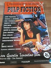 Pulp Fiction cinema one 1 sheet  Poster full size Tarantino Uma Thurman