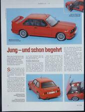 SAMMELN BMW M3 SPORT EVOLUTION in 1-18 von Autoart....ein Modellbericht   #2004